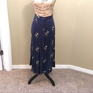 Prophecy by Sag Harbor blue midi skirt